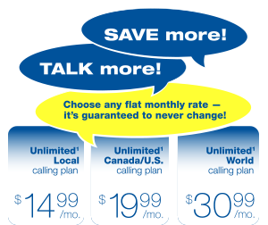 Save more! Talk more!
